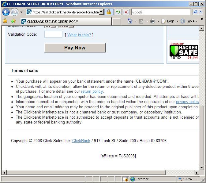 turbulance buy גנבי העמלות ב ClickBank